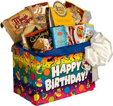 birthday basket birthday sweet gift basket