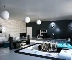modern romantic master bedroom with luxury modern round master