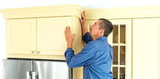How To Add Molding To Cabinet Doors Adding Molding To Old Kitchen Cabinet Doors Nrtradiant Com