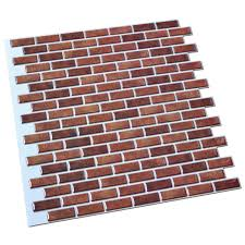 peel and stick wall tile in brick style for kitchen and bathroom 6