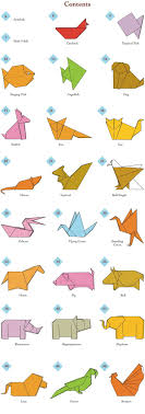 Easy Origami Peacock - easy origami animals page 2 of 6 contents origami 3d gifts