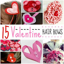 hair bows 15 adorable diy s day hair bows