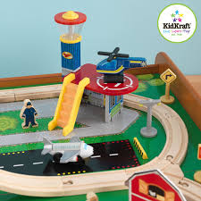 kidkraft ride around train set and table walmart com