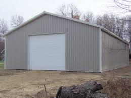 28 building plans for metal garage mccarte pole barn kit