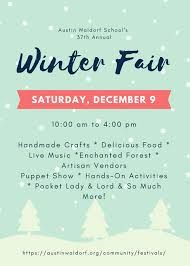 the 37th annual winter fair is around the corner waldorf