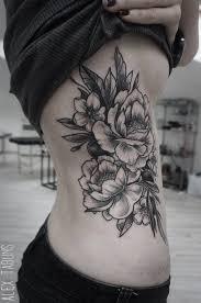 black floral inkedcollector