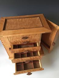 jewelry necklace boxes images Handmade wooden necklace holdersewelry box glamorous storage for jpg