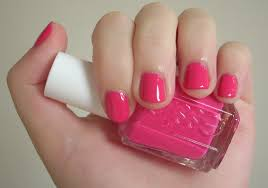 essie fiesta nail polish review through the looking glass