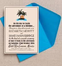 destination wedding invitation 10 mexican themed destination wedding invitations