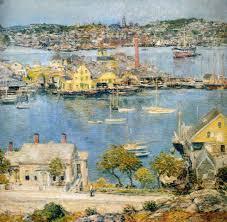Gloucester Harbor Childe Hassam Wikiart Org