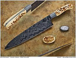 Damascus Kitchen Knives For Sale Meteorite Damascus Gyuto Chef Knife Bladeforums Com