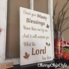 fall sign autumn home decor religious christian shabby chic