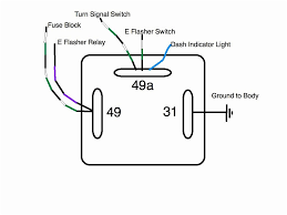 how to connect a 11 pin flasher relay so that turn signal dash at