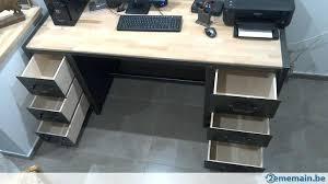 bureau type industriel bureau caruso style industriel en bois et metal 1 cleanemailsfor me