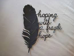 feather fragile quote image 422118 on favim com