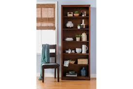 quincy 84 inch bookcase living spaces