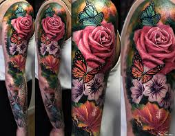 tattoo sleeve flowers danielhuscroft com