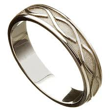 mens celtic wedding bands wedding ring celtic twist mens wedding band at irishshop