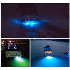 installing led lights on boat marine boat drain plug led light 9w blue underwater new simple to