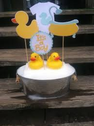 Enchanting Rubber Duck Baby Shower Centerpiece Ideas 16 For Your