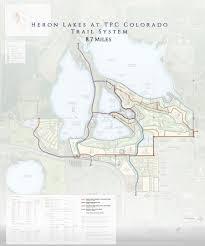 Colorado Public Land Map by Tpc Golf Course Berthoud Heron Lakes