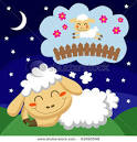 Picture of a Little Lamb Falling Asleep by Counting Sheep in This ... picturesof.net