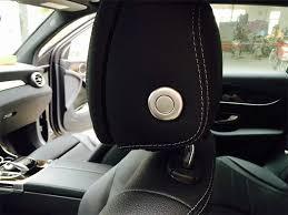 mercedes c300 car cover 4pcs car seat rest switch adjustment button cover trim