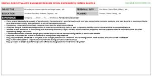 Auditor Job Description Resume by Aerodynamics Engineer Resume Sample