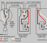 Three Way Light Switch Wiring Diagram Wiring Diagram For 3 Way Switch Multiple Lights In Wiring Diagram