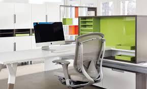 Teknion Reception Desk Workstation Desk Wood Veneer Metal Laminate Upstage