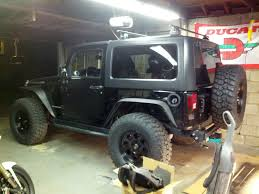 jeep truck 2 door did a thule roof rack on a 2 door hard top jeep pinterest
