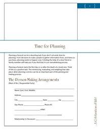 funeral planning guide crisis funeral planning guide planners 4 get your