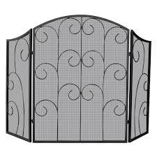 fireplace screens home depot interior design
