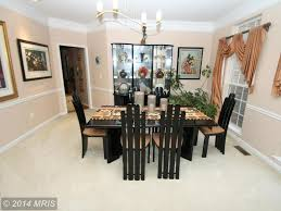 traditional dining room with chair rail by rosslyn snowden
