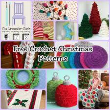 with these crochet christmas patterns you can decorate your home