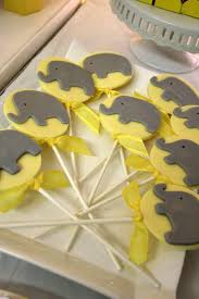 yellow and gray baby shower yellow gray chevron baby shower ideas elephant theme crafty