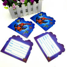 spiderman party invitations reviews online shopping spiderman