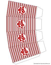 make popcorn boxes popcorn box and box templates