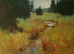 michael chesley johnson color harmony in a landscape painting