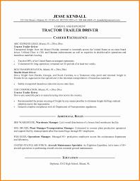 Commercial Truck Driver Resume Sample by 20 Trucking Resume Sample Frefree Office Design Programs