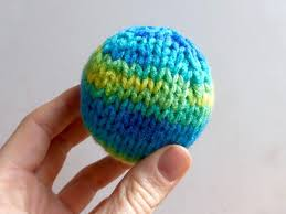 how to knit a two ways for toys or
