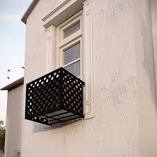 lattice iron air conditioning cover window guard balcony store