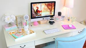 How To Organize Desk Desk Tour Office Tour