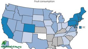 Map Diet Sad States Standard American Diet State By State Comparison Youtube