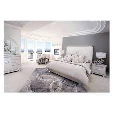 King Platform Bedroom Set by Glimmering Heights King Platform Bed El Dorado Furniture