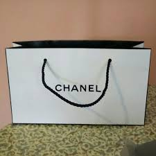 chanel sale chanel paper gift bag from s closet on