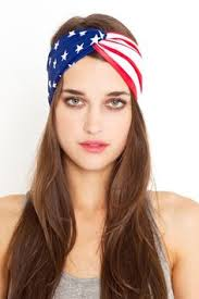 4th of july headband 4th of july fashion wearing american
