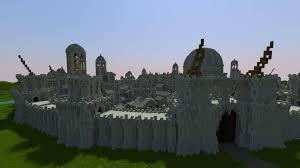 Minecraft Project Ideas Osgiliath Ancient Capital Of Gondor Minecraft Project