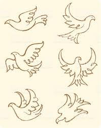 sketch dove stock vector art 165731569 istock