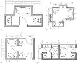bathroom layouts is your current bathroom layout suitable for your remodel